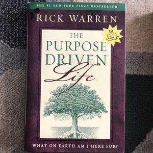 The Purpose Driven Life book by Rick Warren